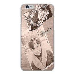 """Чехол для iPhone 6, объёмная печать """"Ретро."""" - девушка, ретро, улыбка, фотография, шоколад"""