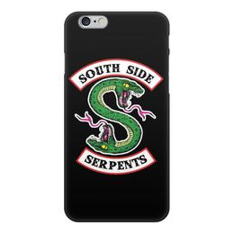 """Чехол для iPhone 6, объёмная печать """"Riverdale (Ривердейл)"""" - арчи, riverdale, ривердейл, south side serpents"""