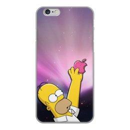 """Чехол для iPhone 6, объёмная печать """"Гомер"""" - гомер"""