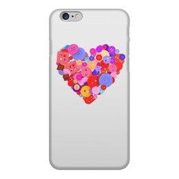 """Чехол для iPhone 6, объёмная печать """"День всех влюбленных"""" - любовь, день святого валентина, валентинка, i love you, день влюбленных"""
