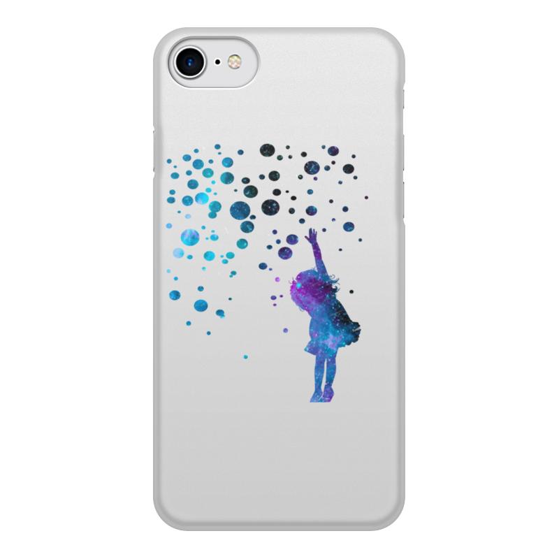 Чехол для iPhone 7, объёмная печать Printio Дотянуться до звезд модницы раскраска isbn 978 985 17 1187 7 978 985 17 1541 7