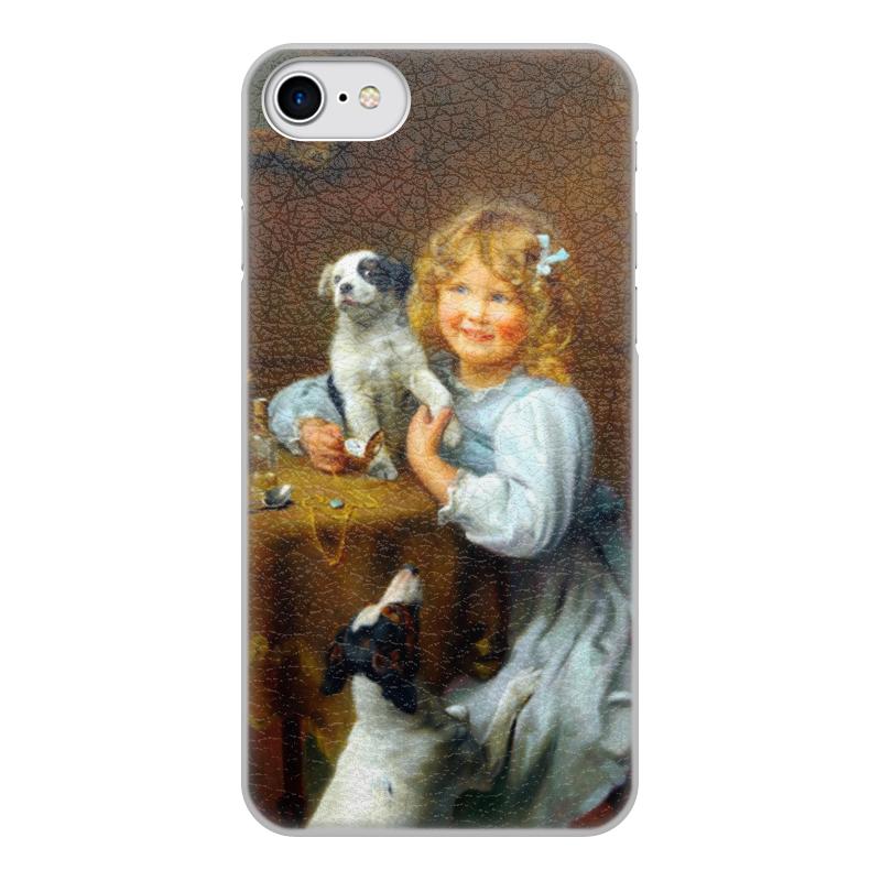 Чехол для iPhone 7, объёмная печать Printio Картина артура элсли (1860-1952) картины decoretto картина граффити 7