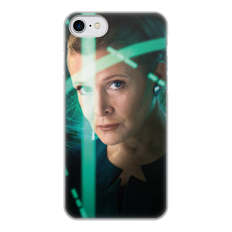 Чехол для iPhone 7, объёмная печать Printio Звездные войны - лея