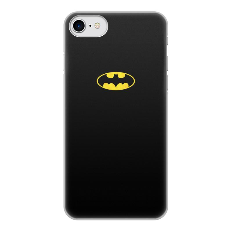 Фото - Чехол для iPhone 7, объёмная печать Printio Бэтмен / batman чехол для iphone 7 глянцевый printio супергерои комиксов