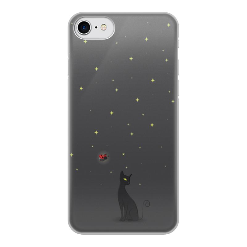 Чехол для iPhone 7, объёмная печать Printio Ночная история