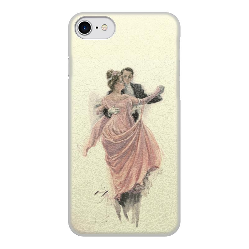 Чехол для iPhone 7, объёмная печать Printio День святого валентина цена и фото