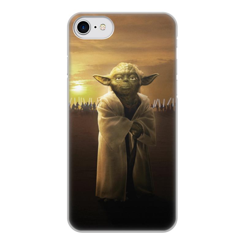 Чехол для iPhone 7, объёмная печать Printio Звездные войны - йода