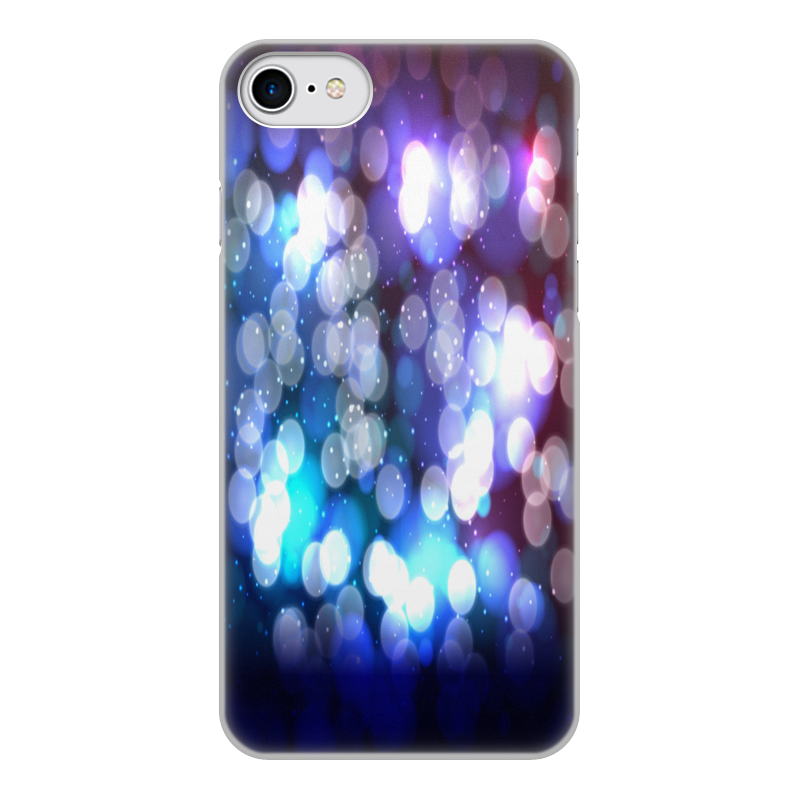 Чехол для iPhone 7, объёмная печать Printio Блики света чехол аккумулятор deppa nrg case 2600 mah для iphone 7 белый 33520
