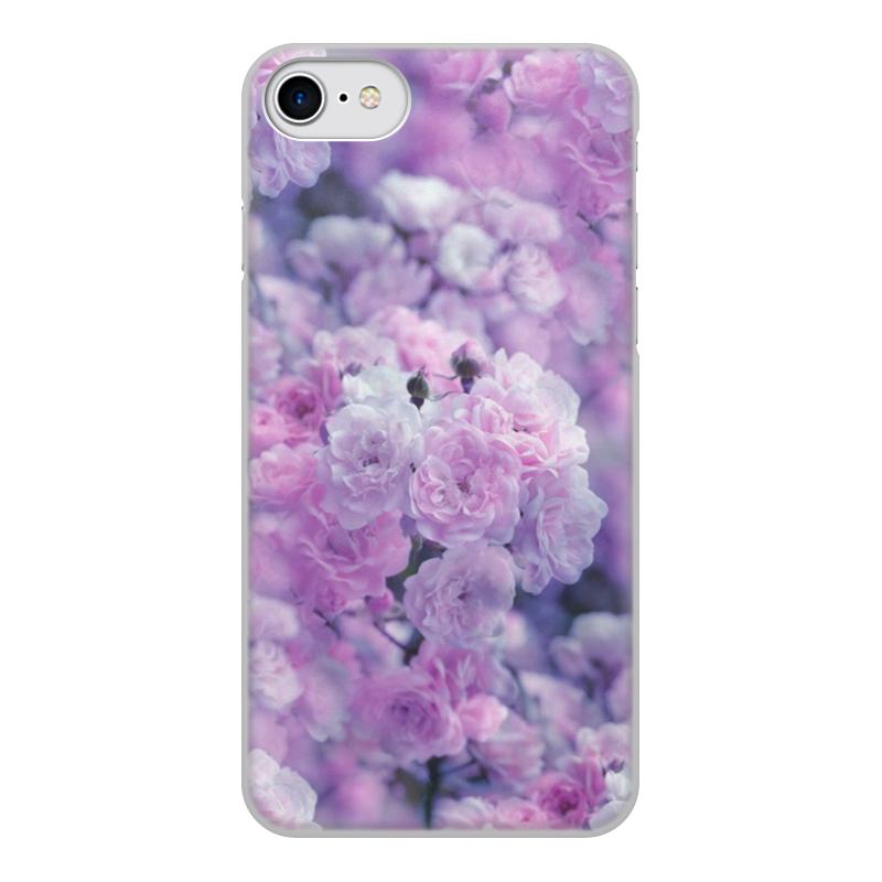 Чехол для iPhone 7, объёмная печать Printio Цветы чехол для iphone 7 глянцевый printio оно