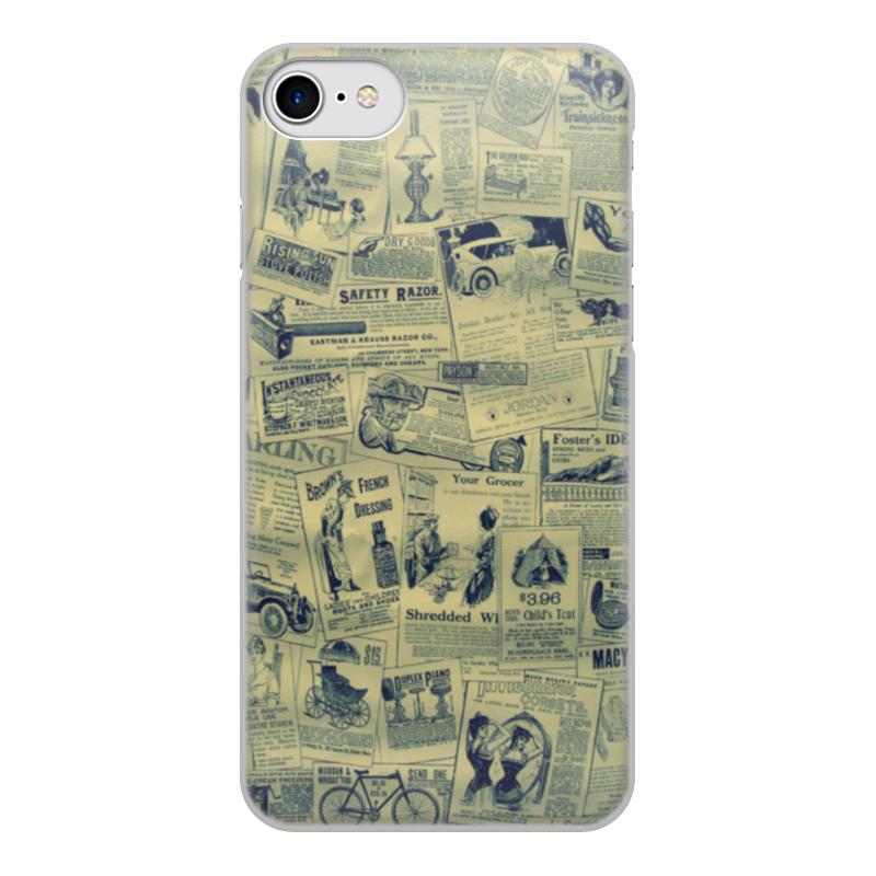 лучшая цена Чехол для iPhone 7, объёмная печать Printio Ретро