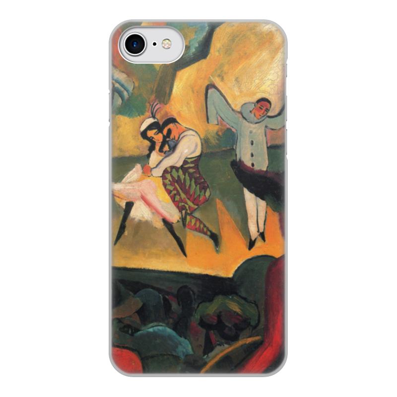 Чехол для iPhone 7, объёмная печать Printio Русский балет (август маке) чехол для iphone x xs объёмная печать printio пейзаж в тегернзее август маке