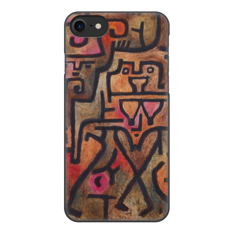 Чехол для iPhone 7, объёмная печать Printio Лесные ведьмы (пауль клее) чехол для samsung galaxy s5 printio лесные ведьмы пауль клее