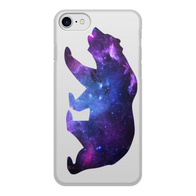 Чехол для iPhone 7, объёмная печать Printio Space animals чехол для iphone 5 printio my space