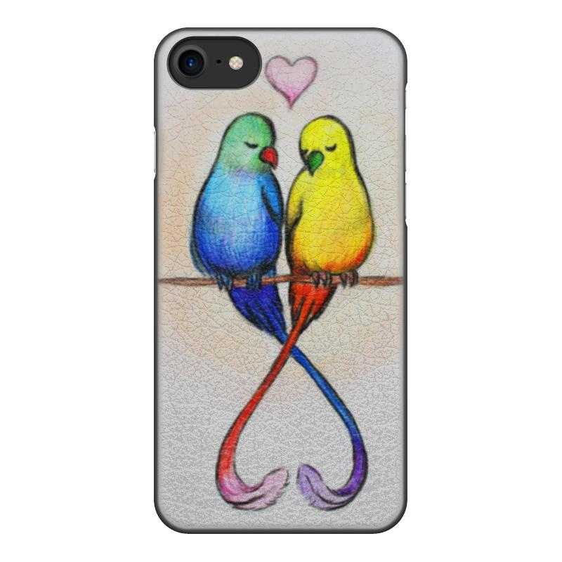 Чехол для iPhone 7, объёмная печать Printio Нежность на ветках чехол для iphone 7 глянцевый printio любовь и страсть