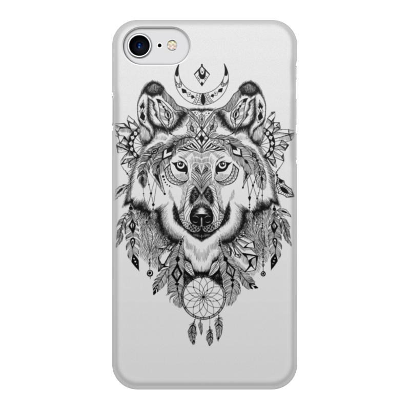Чехол для iPhone 7, объёмная печать Printio Тотем. волк чехол для iphone 7 объёмная печать printio мишка и волк