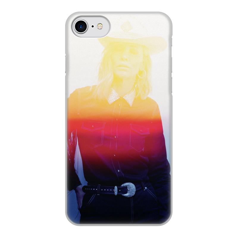 Фото - Чехол для iPhone 7, объёмная печать Printio Cate blanchett чехол для iphone 5 глянцевый с полной запечаткой printio deadpool vs punisher