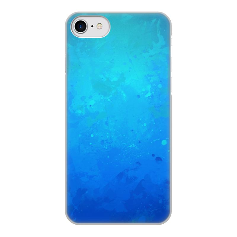 Чехол для iPhone 7, объёмная печать Printio Брызги чехол для iphone 7 глянцевый printio оно