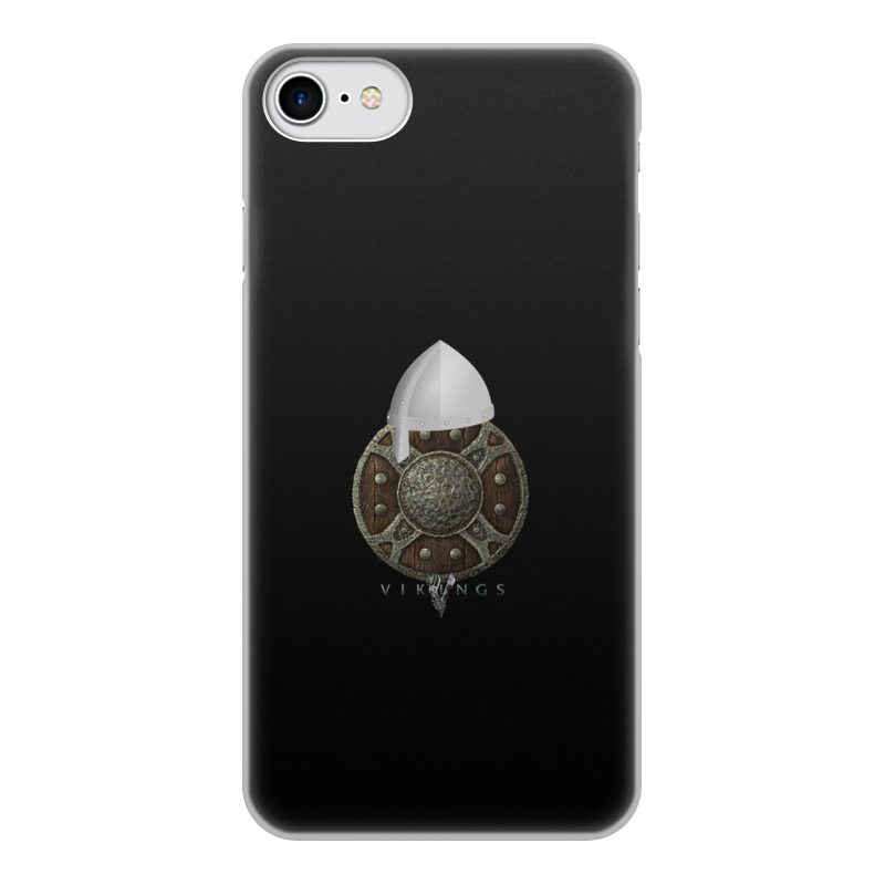 Чехол для iPhone 7, объёмная печать Printio Викинги. vikings touch screen 7 inch hmi mt6071ie weinview new