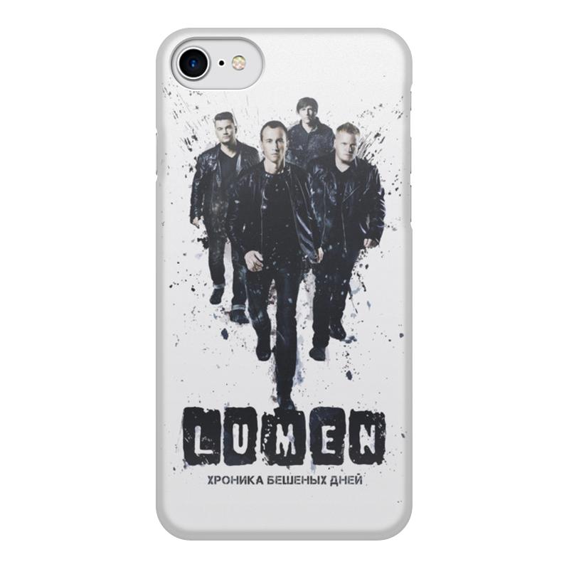 Чехол для iPhone 7, объёмная печать Printio Lumen хроника бешеных дней 0 7 мм ультра тонкий тонкий алюминиевый металлический бампер рамка чехол для iphone 5 5с