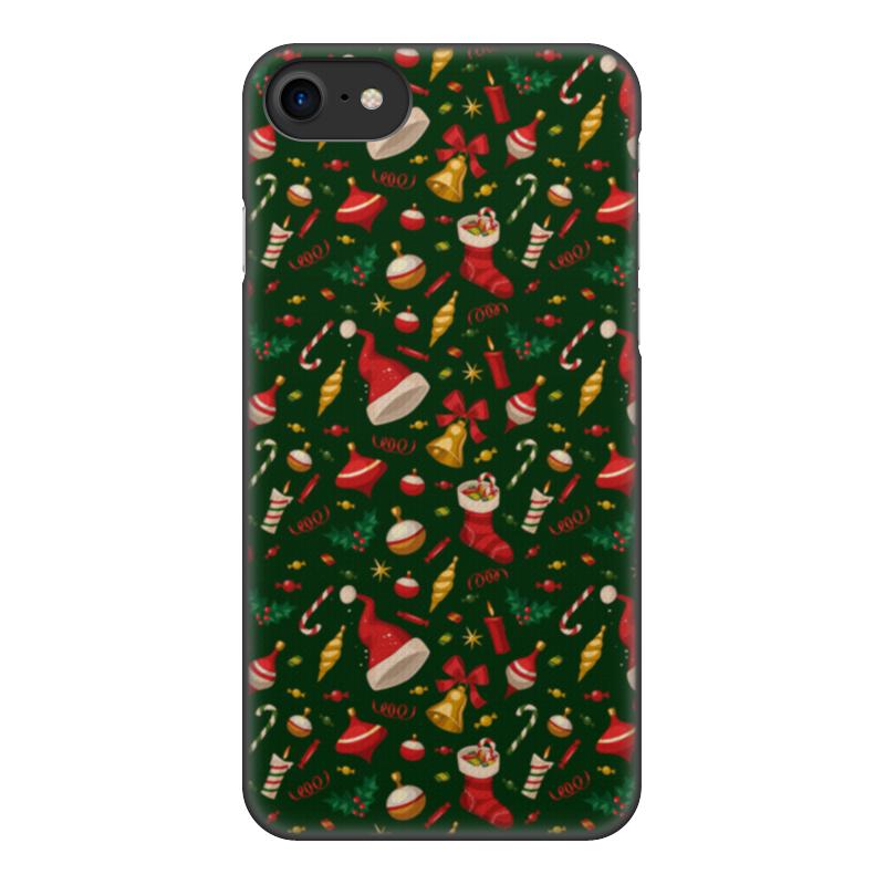 Чехол для iPhone 7, объёмная печать Printio Новогоднее настроение чехол для iphone 6 объёмная печать printio новогоднее настроение