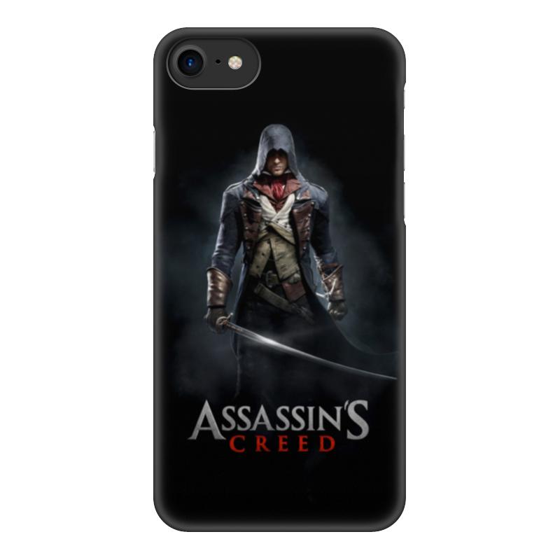 Чехол для iPhone 7, объёмная печать Printio Assassins creed (unity arno) все цены
