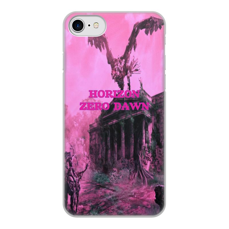 Чехол для iPhone 7, объёмная печать Printio Horizon zero dawn
