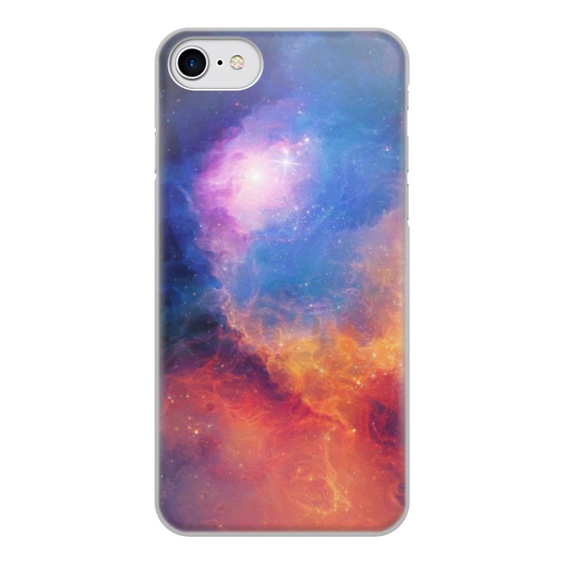 Чехол для iPhone 7, объёмная печать Printio Космос