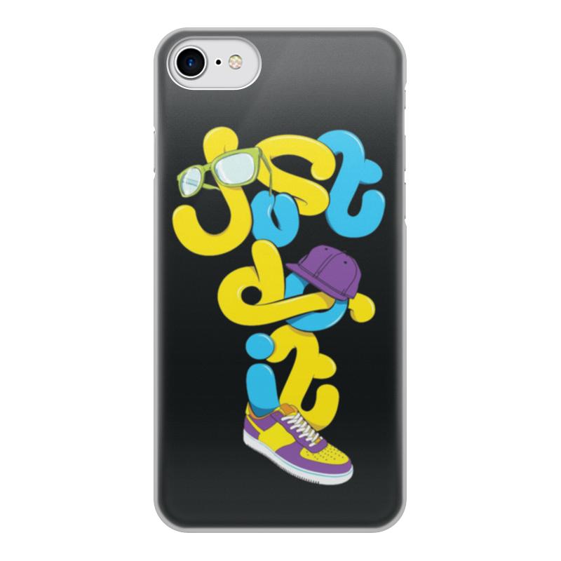 Чехол для iPhone 7, объёмная печать Printio Just do it (просто сделай это) лонгслив printio just