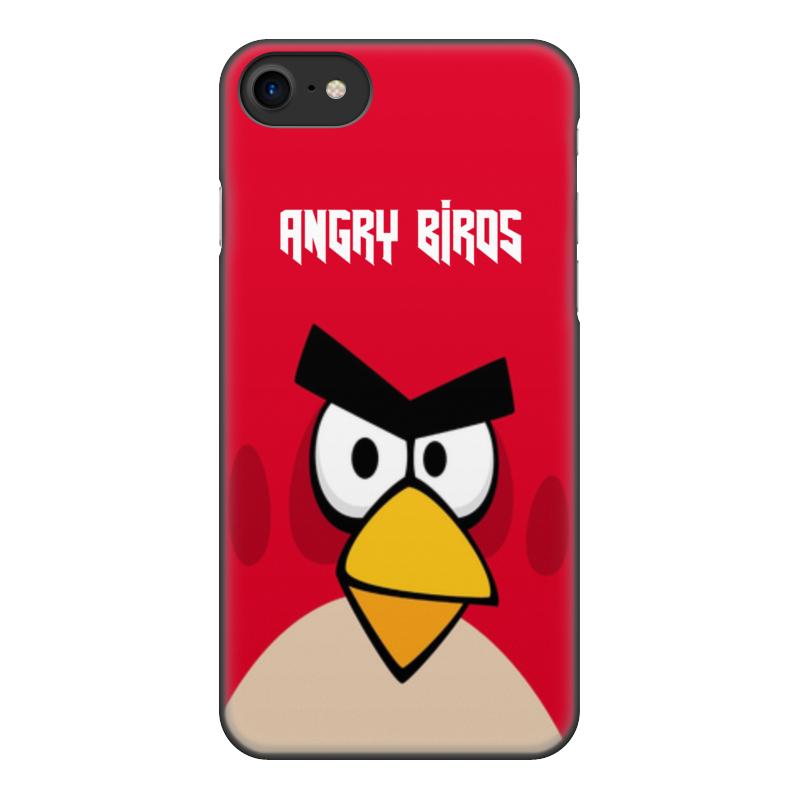 Чехол для iPhone 7, объёмная печать Printio Angry birds (terence) чехол для iphone 4 4s angry birds 1 401