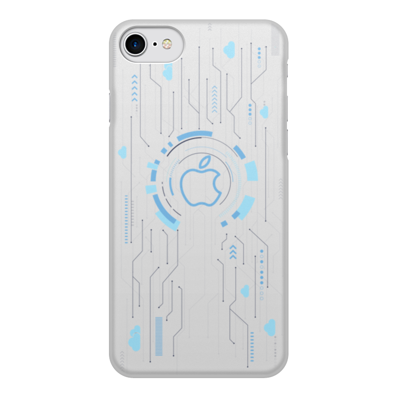 Чехол для iPhone 7, объёмная печать Printio Technic printio чехол для iphone 7 объёмная печать