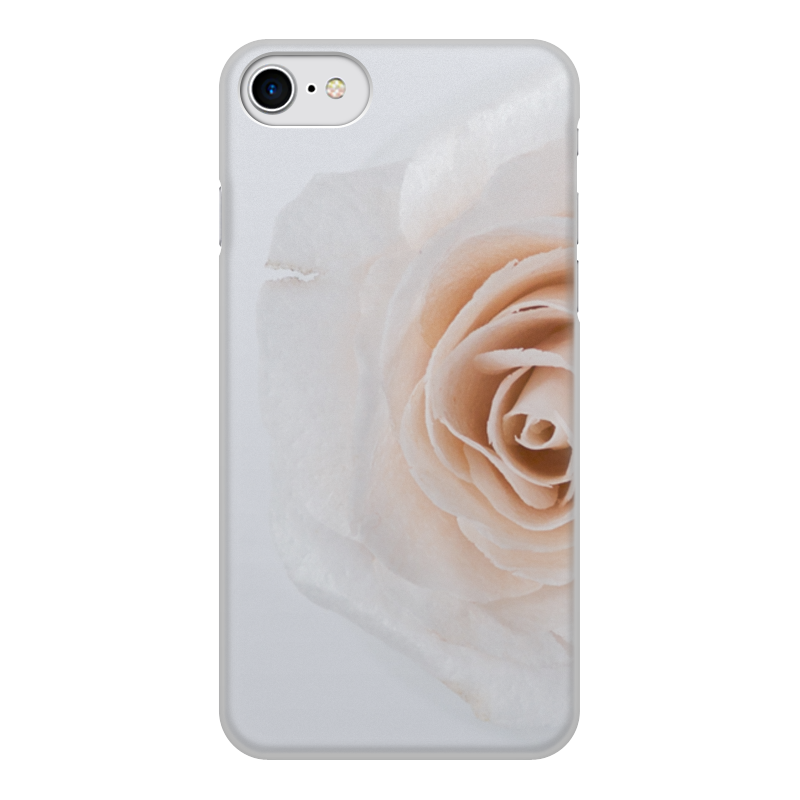 Чехол для iPhone 7, объёмная печать Printio Цветок роза чехол для iphone 7 plus объёмная печать printio золотая роза