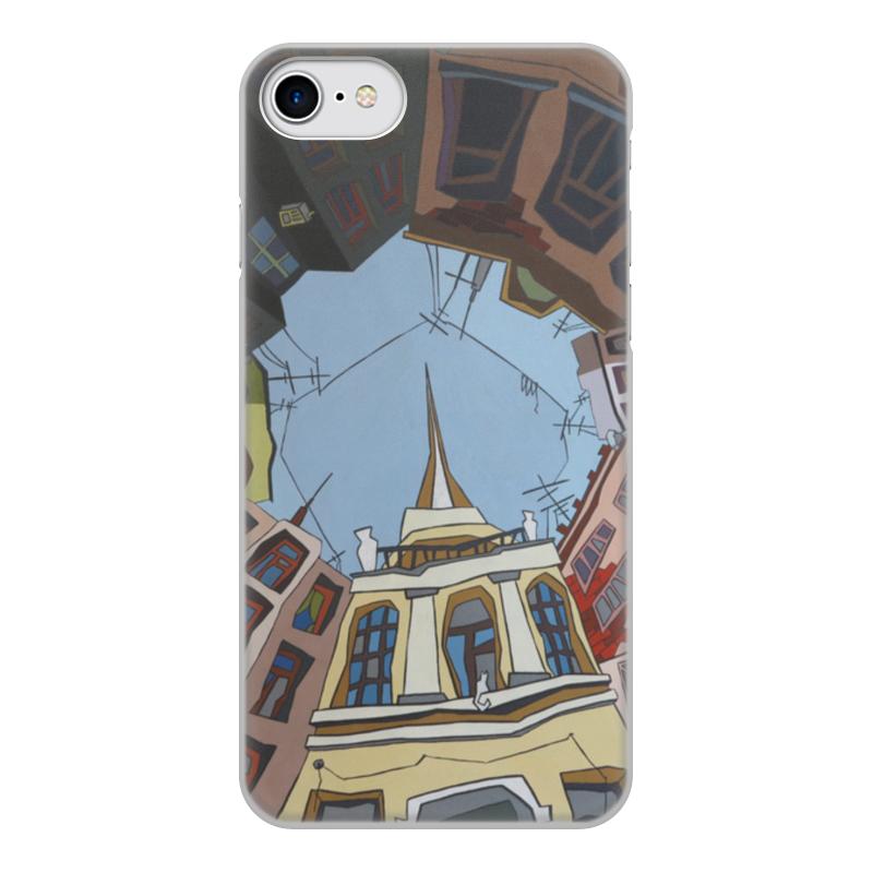 Чехол для iPhone 7, объёмная печать Printio Двор-колодец