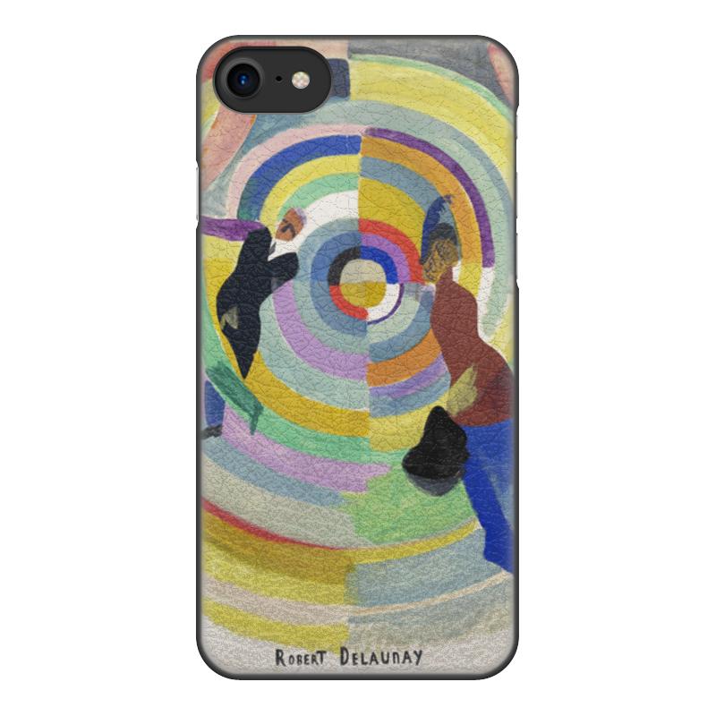 Чехол для iPhone 7, объёмная печать Printio Политическая драма (робер делоне)