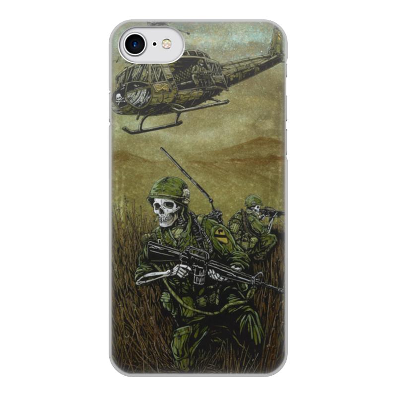 Чехол для iPhone 7, объёмная печать Printio Война