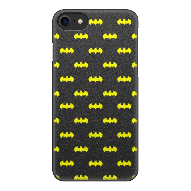 Чехол для iPhone 7, объёмная печать Printio Бэтмен
