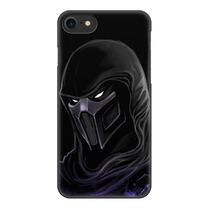 Чехол для iPhone 7, объёмная печать Printio Mortal kombat (noob saibot) чехол для apple iphone 8 7 silicone case white