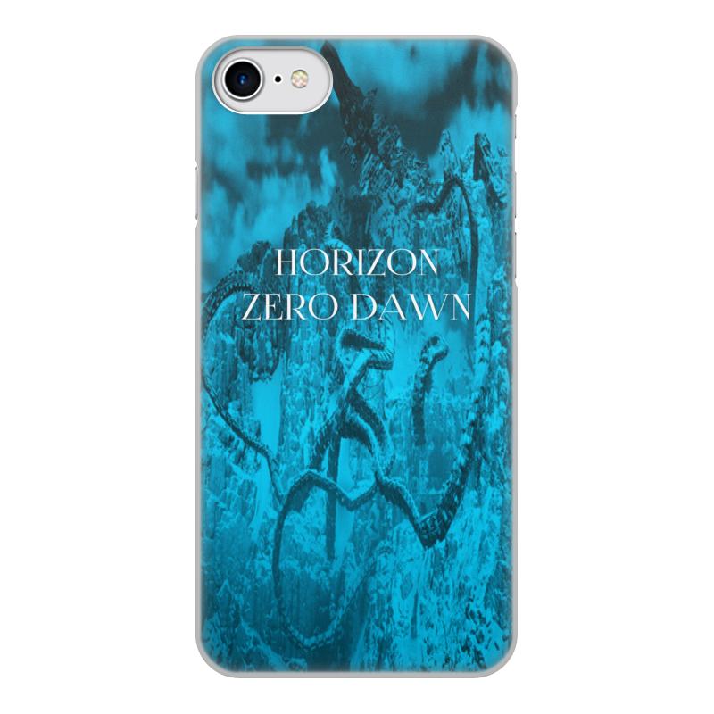 Чехол для iPhone 7, объёмная печать Printio Horizon zero dawn цена
