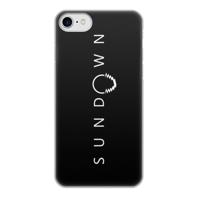 Чехол для iPhone 7, объёмная печать Printio Sundown цена