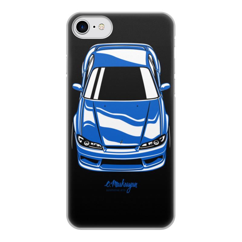 Чехол для iPhone 7, объёмная печать Printio Silvia s15
