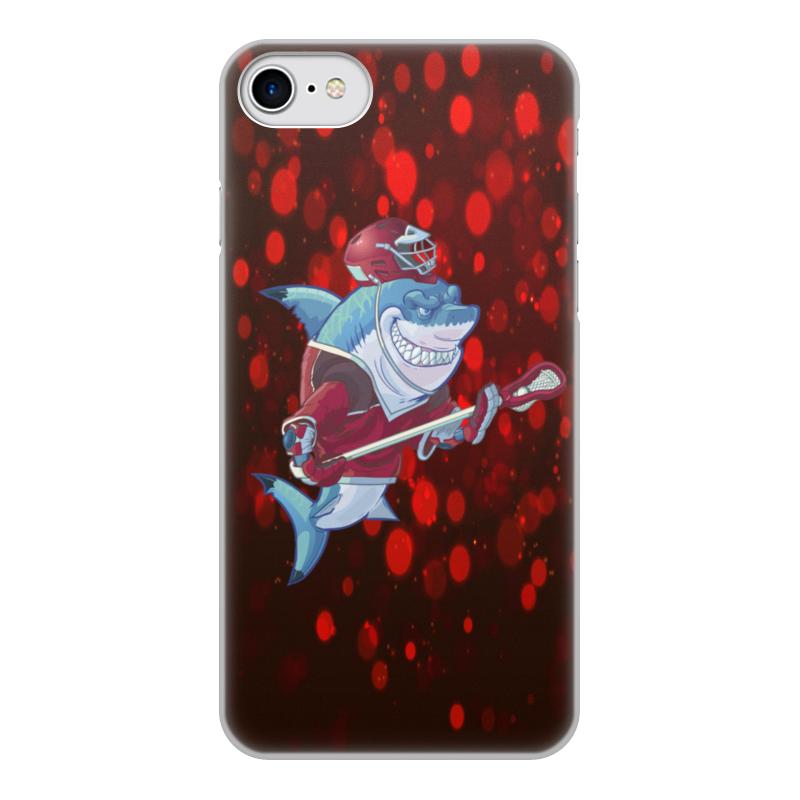 Чехол для iPhone 7, объёмная печать Printio Акула