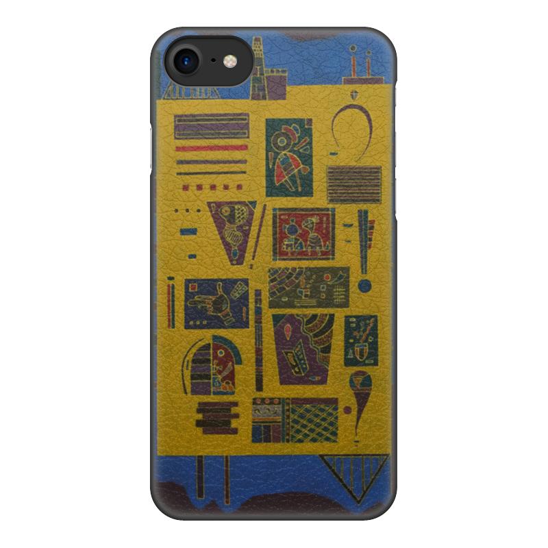 Чехол для iPhone 7, объёмная печать Printio Конгломерат (василий кандинский) чехол для iphone 7 глянцевый printio боярыня морозова василий суриков