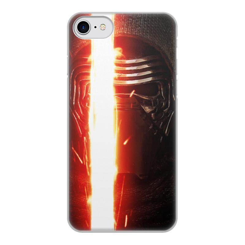 Чехол для iPhone 7, объёмная печать Printio Звездные войны - кайло рен