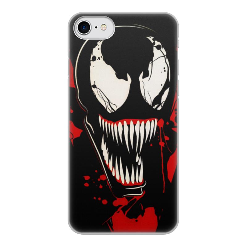 Чехол для iPhone 7, объёмная печать Printio Веном (venom) чехол для apple iphone 8 7 silicone case white