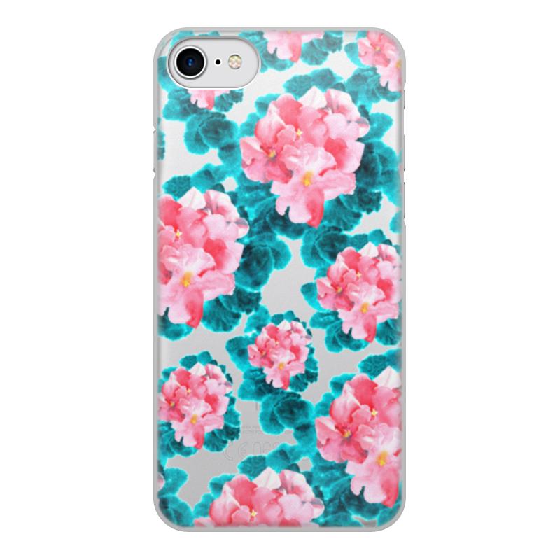 Чехол для iPhone 7, объёмная печать Printio Цветы