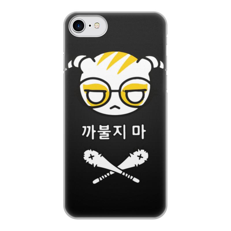 Чехол для iPhone 7, объёмная печать Printio Dokkaebi чехол аккумулятор deppa nrg case 2600 mah для iphone 7 белый 33520