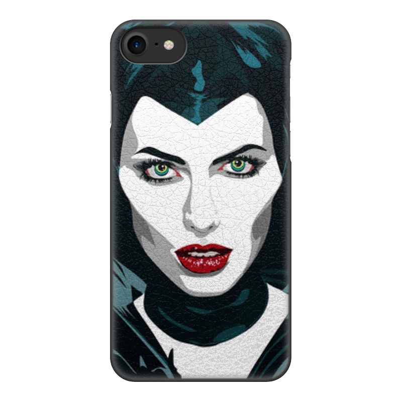 Чехол для iPhone 7, объёмная печать Printio Maleficent (анджелина джоли) чехол для apple iphone 8 7 silicone case white