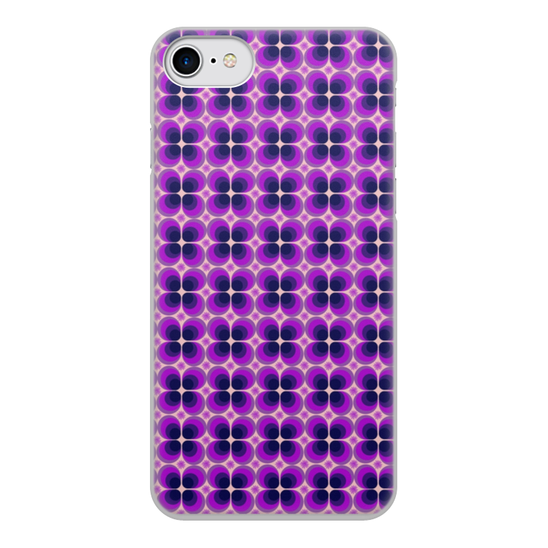 Чехол для iPhone 7, объёмная печать Printio Цветочный орнамент из кругов чехол для iphone 7 глянцевый printio лола из валенсии