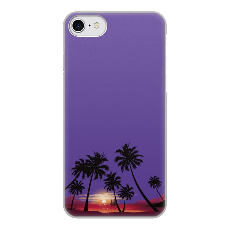 Чехол для iPhone 7, объёмная печать Printio Острова в океане чехол аккумулятор deppa nrg case 2600 mah для iphone 7 белый 33520