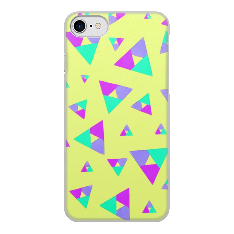 Чехол для iPhone 7, объёмная печать Printio Треугольник 1