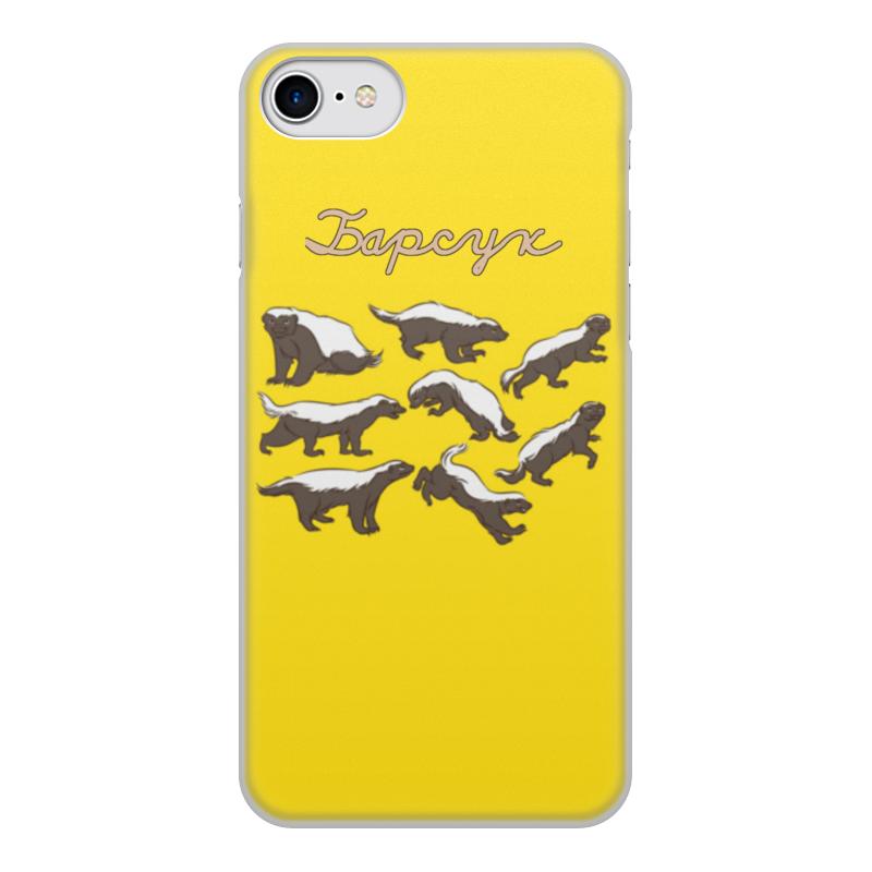 Чехол для iPhone 7, объёмная печать Printio Ibarsuk 2 mooncase 2 в 1 блеск bling печать гибкая мягкая tpu защитная крышка чехол с держателя кольца kickstand для letv le 2 x620